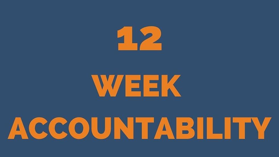 ACCOUNTABILITY 12 WEEKS