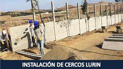 INSTALACION DE CERCOS