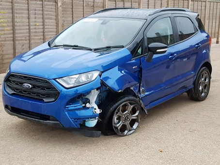 Scrap My Ford Ecosport | Sell My Damaged Ecosport