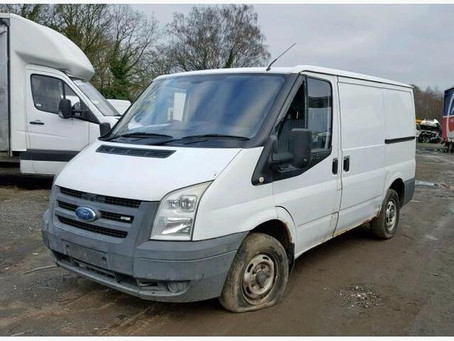 Scrap My Ford Transit | Sell My Damaged Transit