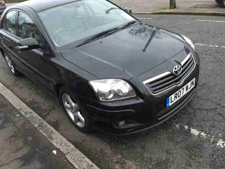 Scrap My Toyota Avensis | Sell My Damaged Avensis