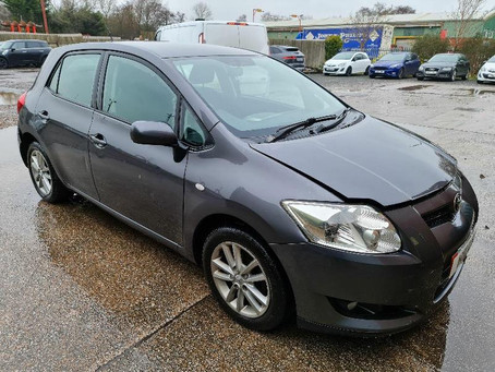 Scrap My Toyota Auris | Sell My Damaged Auris