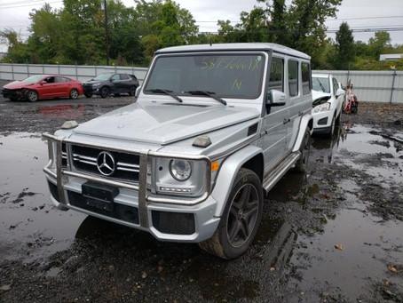 Scrap My Mercedes G Class | Sell My Damaged G Class