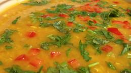 דאל | תבשיל עדשים הודי כתום