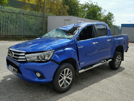 Scrap My Toyota Hilux | Sell My Damaged Hilux