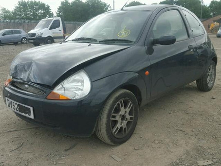 Scrap My Ford Ka | Sell My Damaged Ka