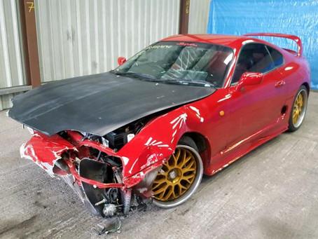 Scrap My Toyota Supra | Sell My Damaged Supra