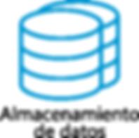 Almacenamiento de datos, NAS iSCSI, FCoE, replicación local y remota, deduplicación, copias instantaneas y SAN Fibre Channel
