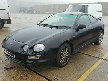 Scrap My Toyota Celica | Sell My Damaged Celica