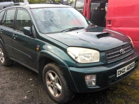 Scrap My Toyota Rav 4 | Sell My Damaged Rav 4