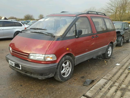 Scrap My Toyota Previa | Sell My Damaged Previa