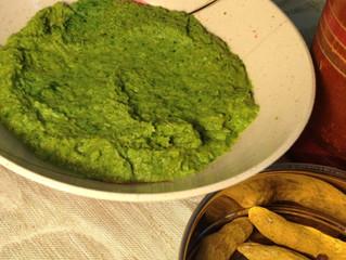 ממרח קארי תאילנדי ירוק עם כורכום