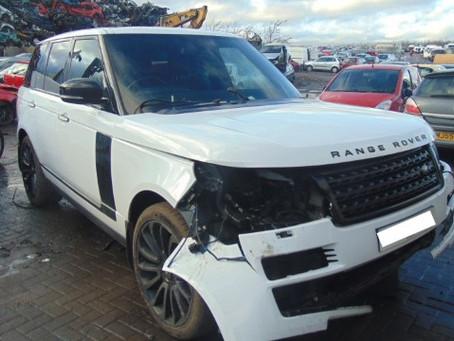 Scrap My Range Rover | Sell My Damaged Range Rover