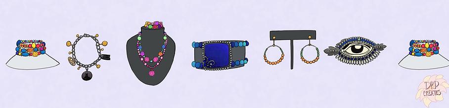 Jewelry Showcase Layout
