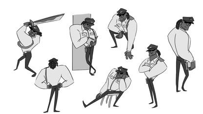 Watchman Pose sheet