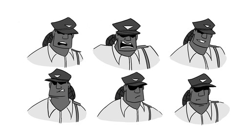 Watchman Facial Expressions