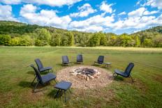 Meadow Cabin Firepit