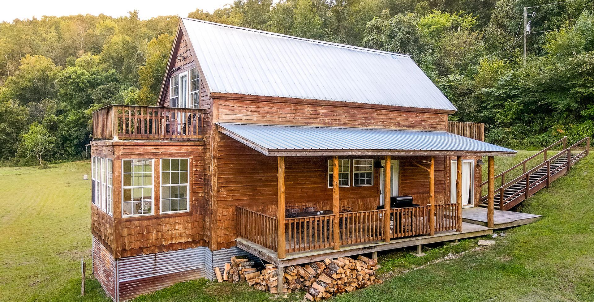 Meadow Cabin on Sylamore Creek