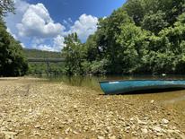 Canoe on Sylamore Creek