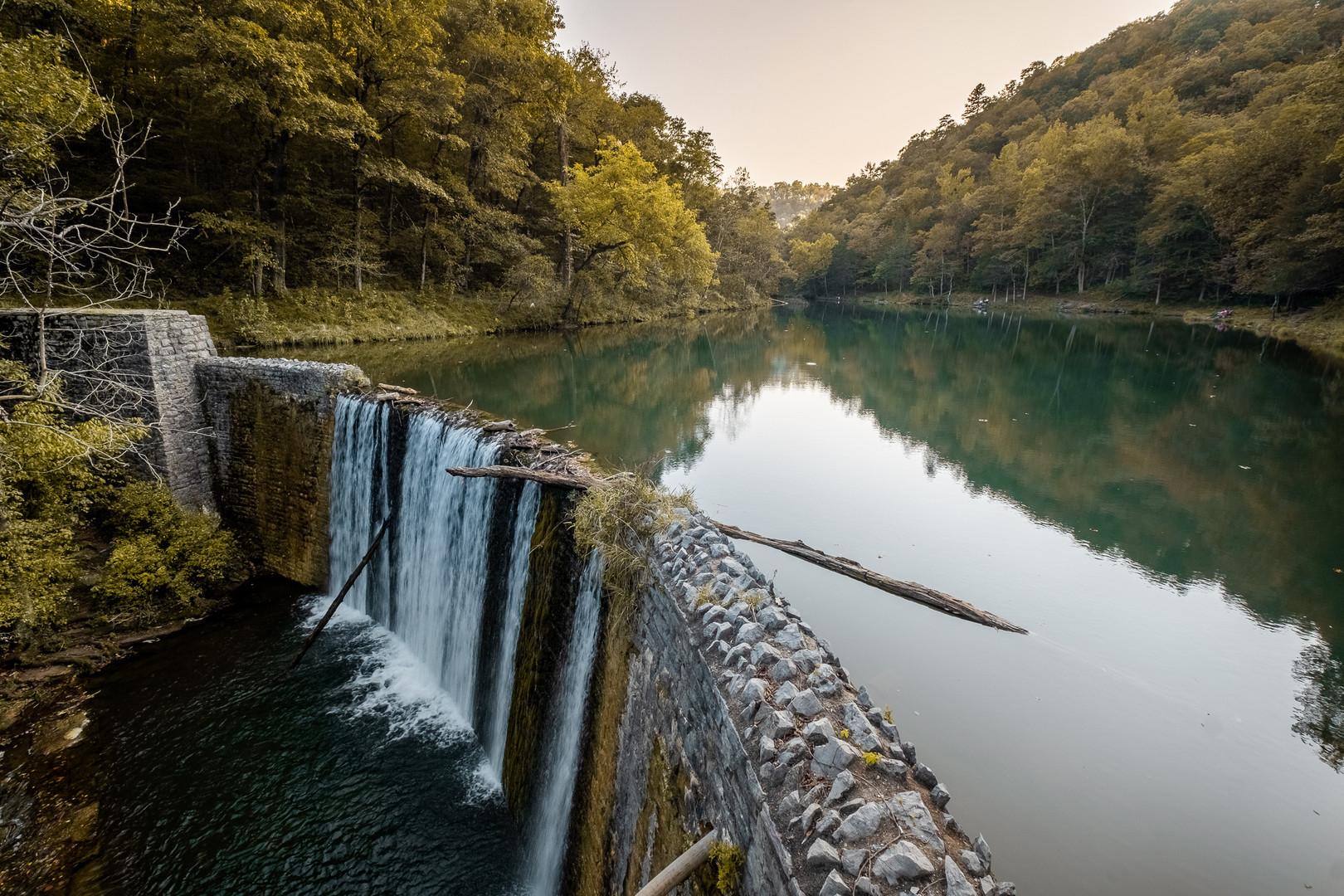Blanchard Springs Waterfall