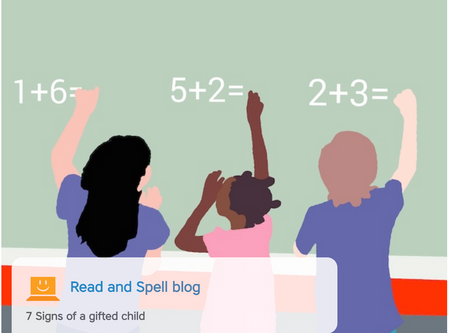 7 Signs of a gifted child