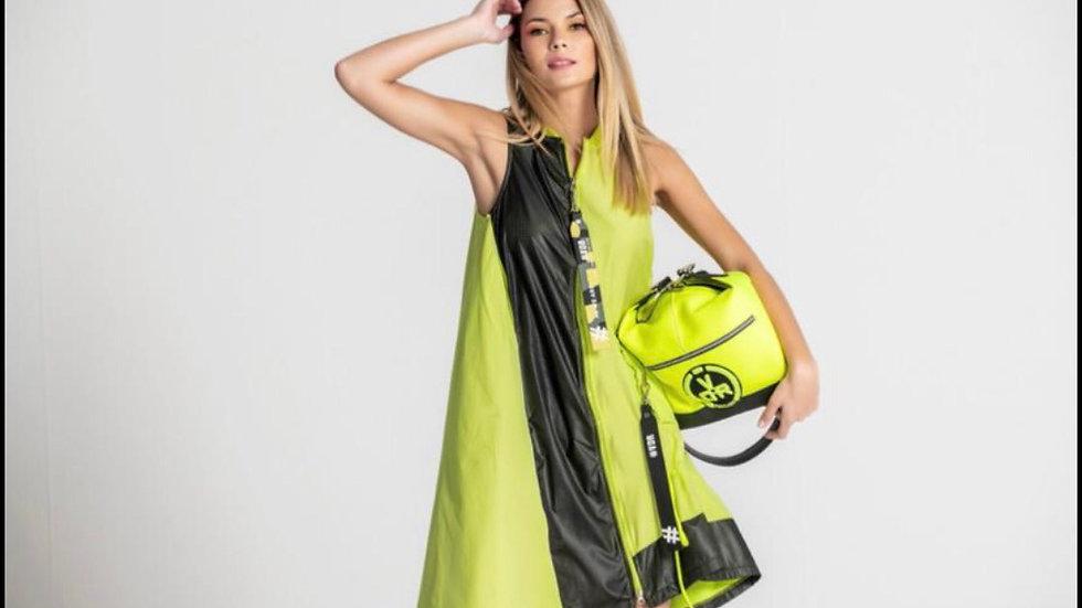 Tunic lime/nero #VDR