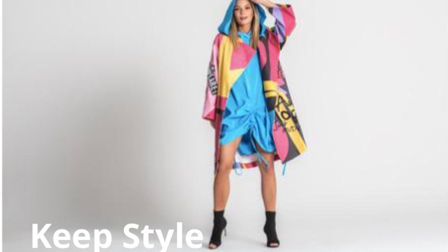 Coat Multi color   #VDR