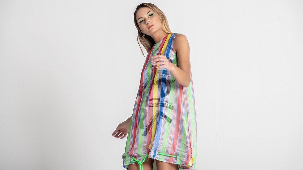 Vestido multi cor  #VDR