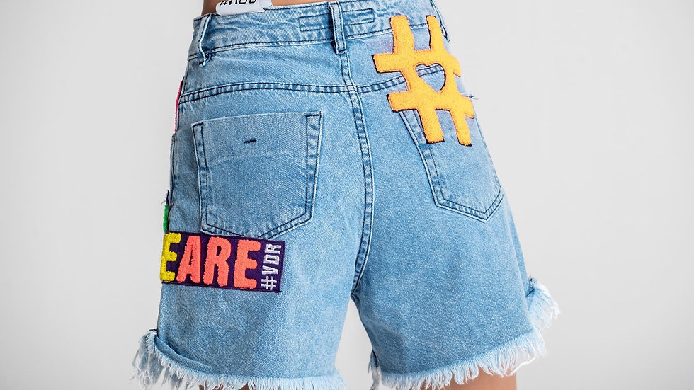 Shorts Blu    #VDR