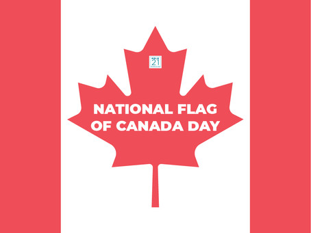 National Flag of Canada Day: Molo 21 edition!