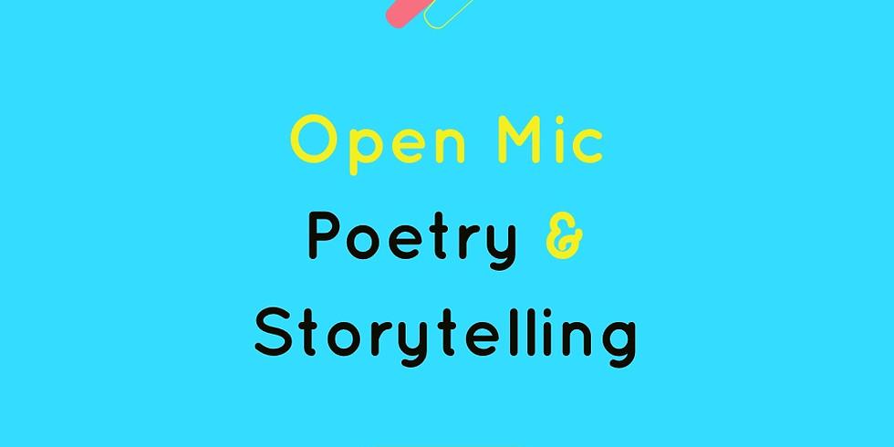 Open Mic: Poetry & Storytelling