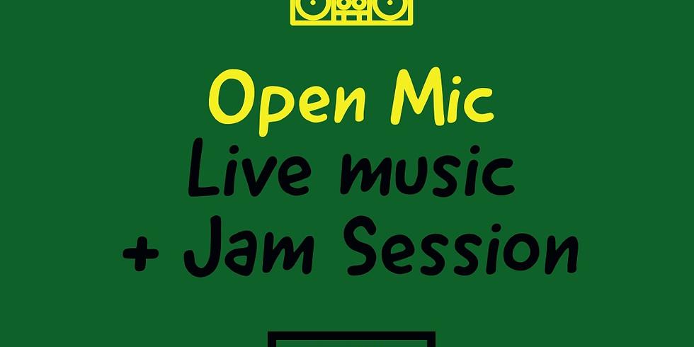 Open Mic: Live Music & Jam Session