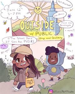 OUTSIDE W/ PUBLIC -  6/12 @ THE STEEL YARD
