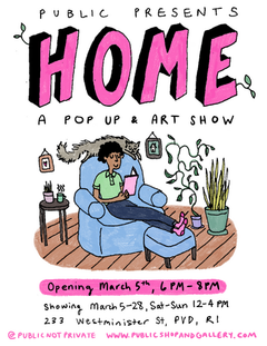 Home - A Pop-Up Art Show March 5-28th