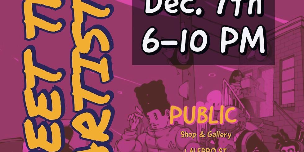 December Opening: Meet the Artists