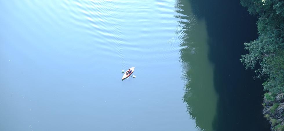 Kayaking at Anbo River