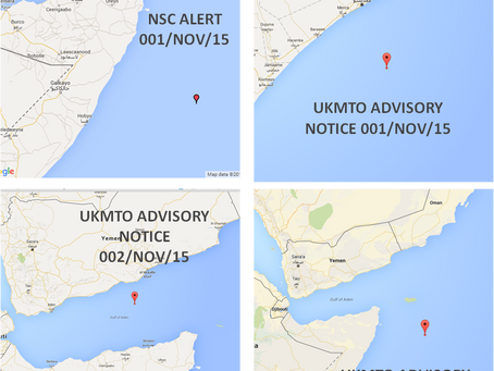 Special Hijack, Advisory and Piracy Alert!