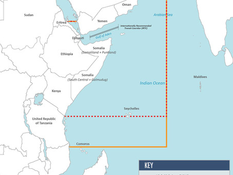 Joint War Risk Committee Revises Indian Ocean Listed Area