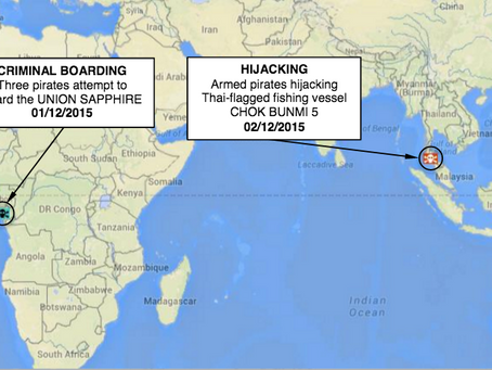 Weekly Maritime Security and Piracy Update 26 - 4th - 10th December 2015