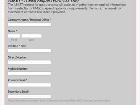 New HRA Transit Request Form