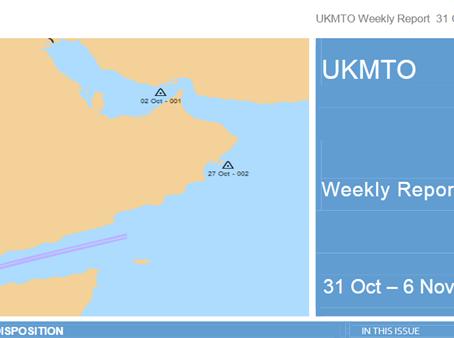 UKMTO Piracy Report 31 Oct - 06 Nov 2015