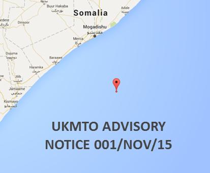 UKMTO ADVISORY NOTICE 001/NOV 2015