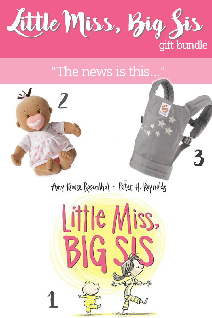 little miss big sis baby stella ergo doll carrier gift ideas big sister sibling new baby