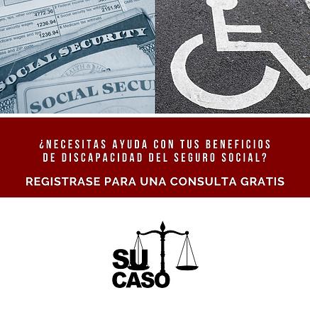 HA Su Caso SS Disability Benefits Flyer