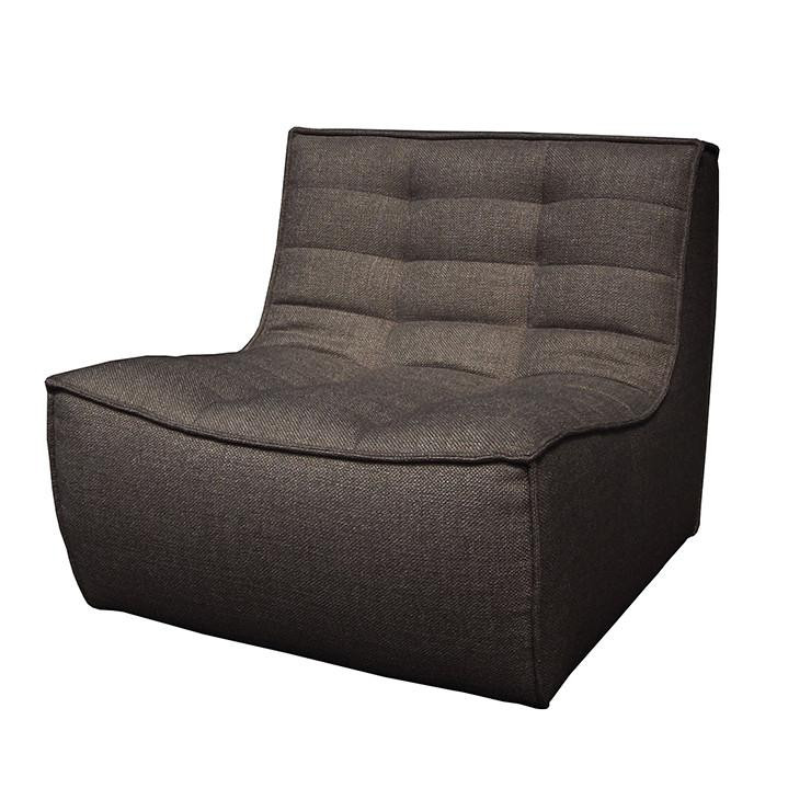 Ethnicraft dark gray 1 seater