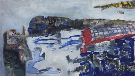 Blue Landscape - Jody Payne