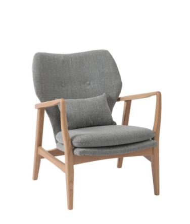 grey oak chair