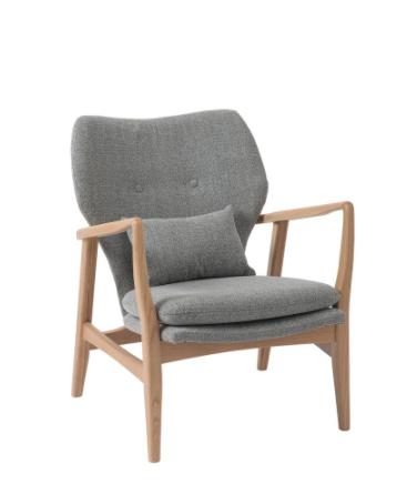 grey oak chair