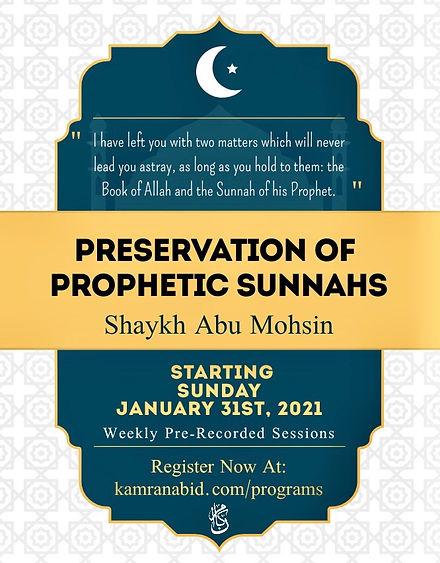 Presercation of Prophetic Sunnahs.jpeg