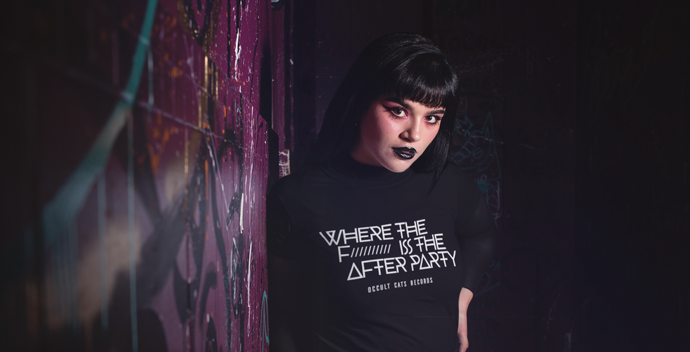 t-shirt-mockup-of-a-goth-woman-lurking-i